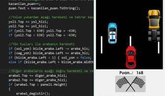 C# Araba Yarışı Oyunu