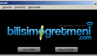 ActionScript Dersleri – ActionScript İle Animasyon (Iris, Photo, PixelDissolve)