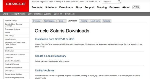 Solaris11Downloadpage