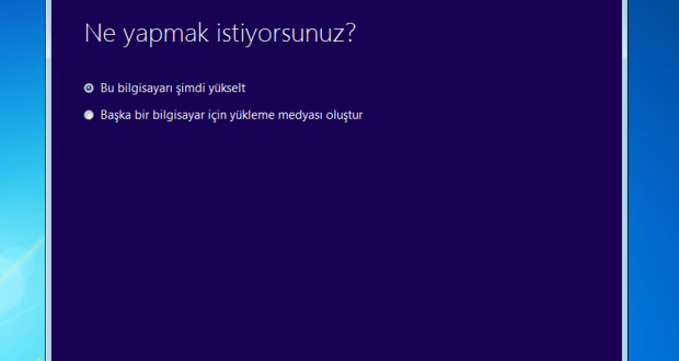 windows 10 yükseltme arac