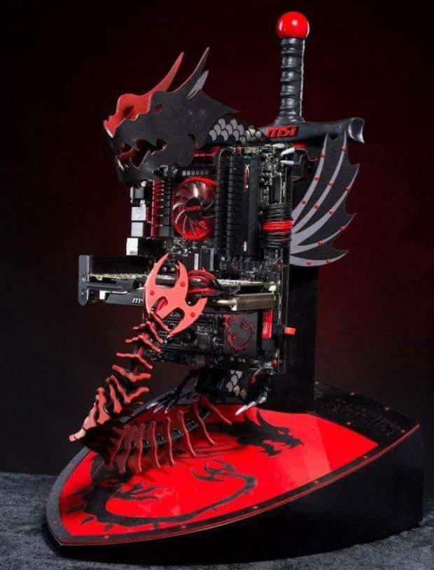 Ejderha Dragon bilgisayar kasası