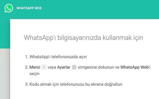 Whatsapp web çalışmıyor Sorunu Çözümü nedir ?
