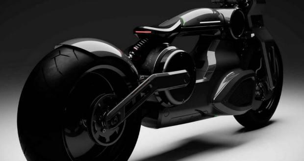 Curtiss Zeus jet-black electric Motorcycle