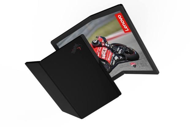 Lenova Katlanabilir ekranlı laptop