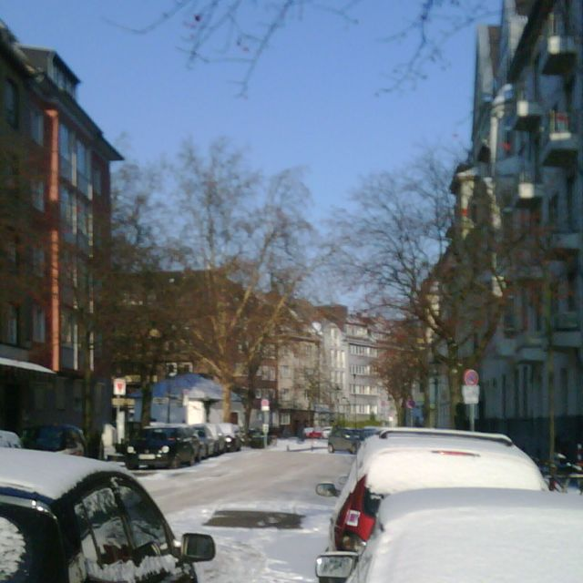 Winterzauber in Bilk… vor ein paar Jahren.