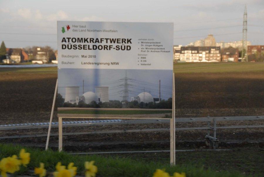 Ein Atomkraftwerk für Düsseldorf ???