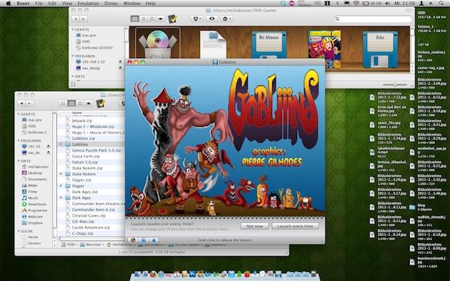 DOS Games auf dem Mac zocken