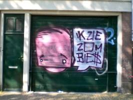 ik zie zombies - streetart