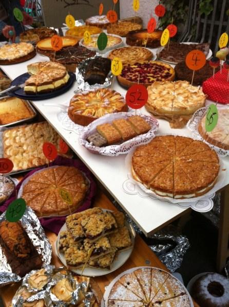 kuchenspenden für den tag (eine auswahl)