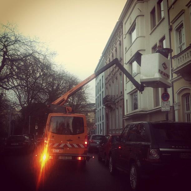 Hurra! Unsere Lampen bekommen neue Strümpfe ;-)