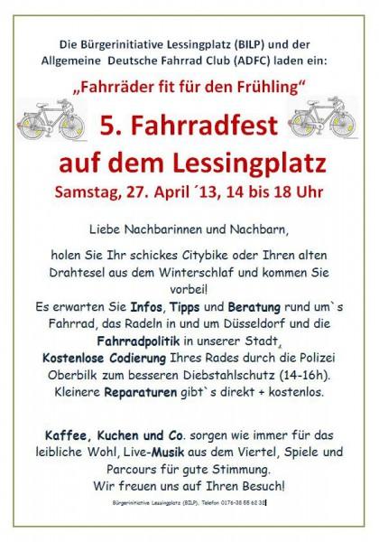 Fahrradfest Lessingplatz
