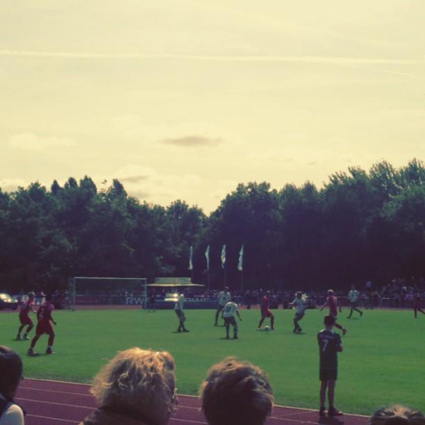 Testspiel der #Fortuna in Wesel :-)