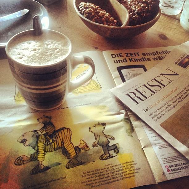 Guter Fund bei der Morgenlektüre – Janosch um ZEITMagazin :-)