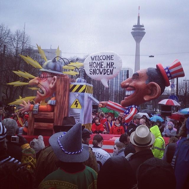 Karneval in Duesseldorf - Politisch wie immer ;-)