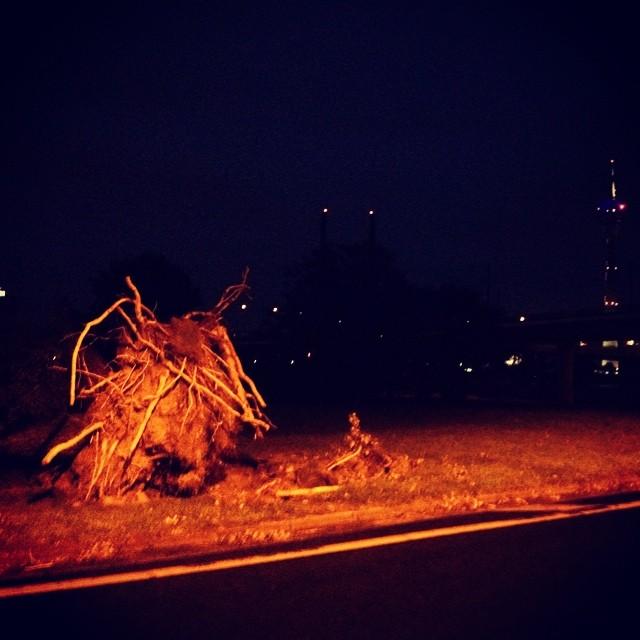 Night Bike Ride quer durch die Stadt :-)