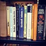 Ein wenig Tetris 'gespielt' im Bücherschrank auf'm Friedensplatzchen...