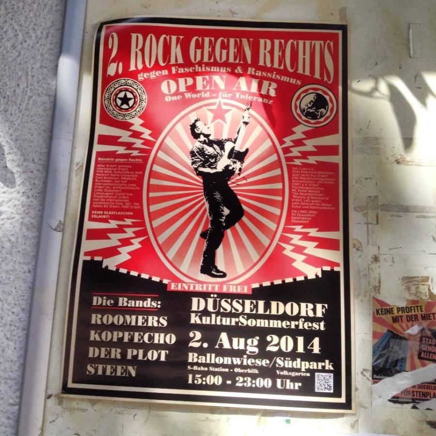 Rock gegen Rechts – Sommerfest & Festival im Volksgarten.