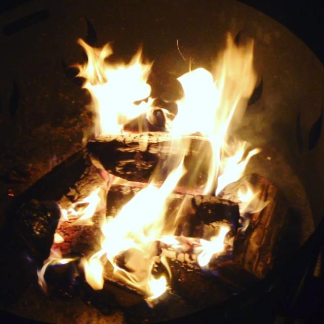 Ein wenig Lagerfeuerromantik am Wochenende ;-)