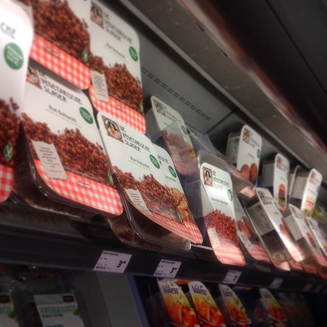 """Endlich wieder Produkte vom """"Vegetarische Slager"""" kaufen und danach schlemmen :-)"""