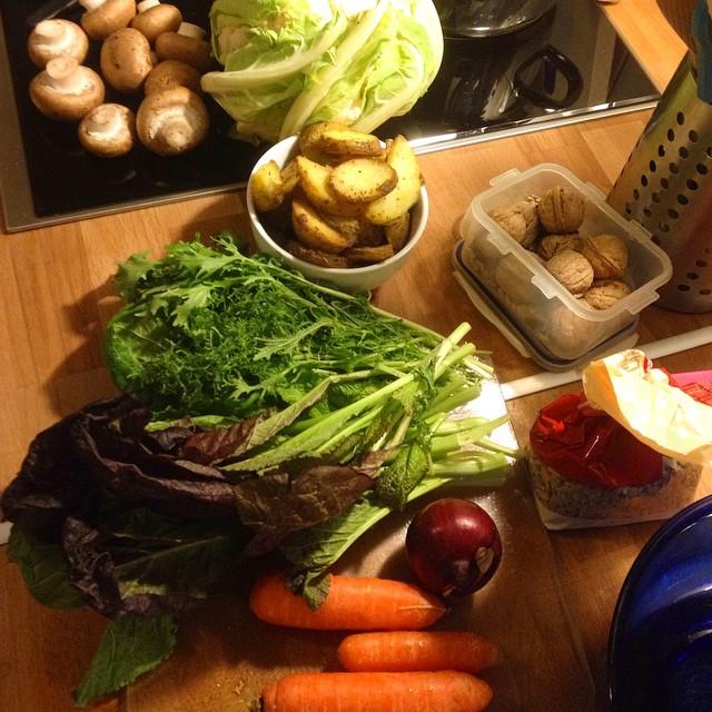 Expedition ins Kochparadies - diesmal wieder mit Resten die unbedingt weg müssen ;-)