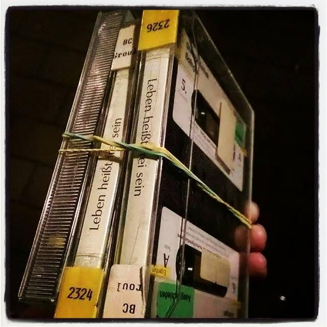 Motivations-Kassetten – unser Fundstück der Woche im Bücherschrank
