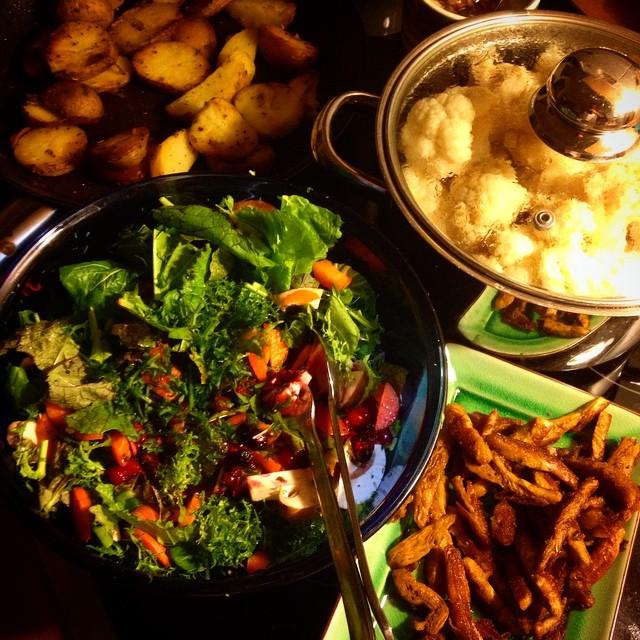 Kleiner Nachtrag zum Wochenende – hatten mal wieder einen 'kritischen' Kochanfall ;-)