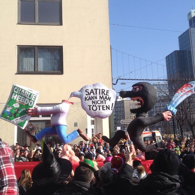 """""""Satire kann man nicht töten!"""" Das, ist Karneval in Düsseldorf. """