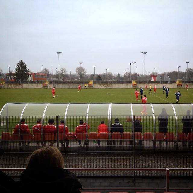 Ein schöne Beschäftigung in der Länderspielpause :-) unsere #fortuna #zwote schauen...