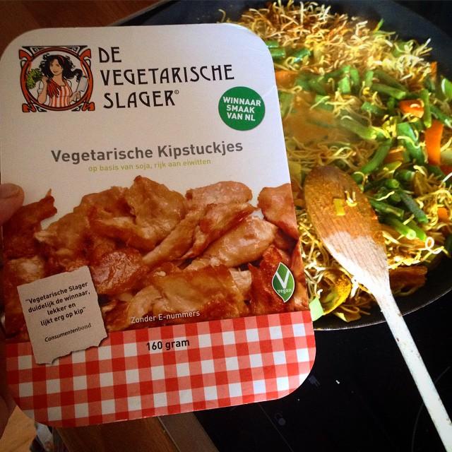 Freu mich schon auf Nachschub aus Amsterdam vom vegetarischen Schlachter :-)