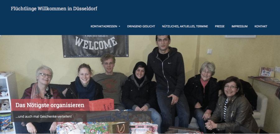 Flüchtlinge Willkommen in Düsseldorf!