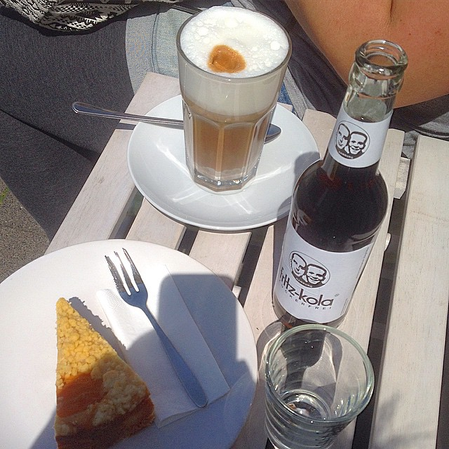 Kurze vegane Kaffeeklatschpause bei CarrotCake...