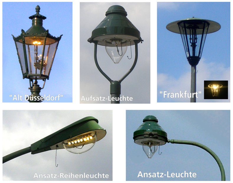 Für den Erhalt der Düsseldorfer Gasbeleuchtung!