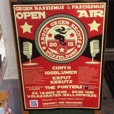 """Rock gegen Rechts 2015"" - Nazis einfach wegbassen ;-)"