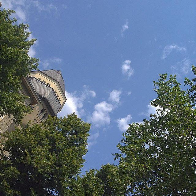 Sonntags einfach mal den ganzen Tag in den Himmel schauen :-)