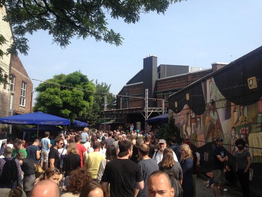 Terminblocker Straßenfest am und um's ZAKK