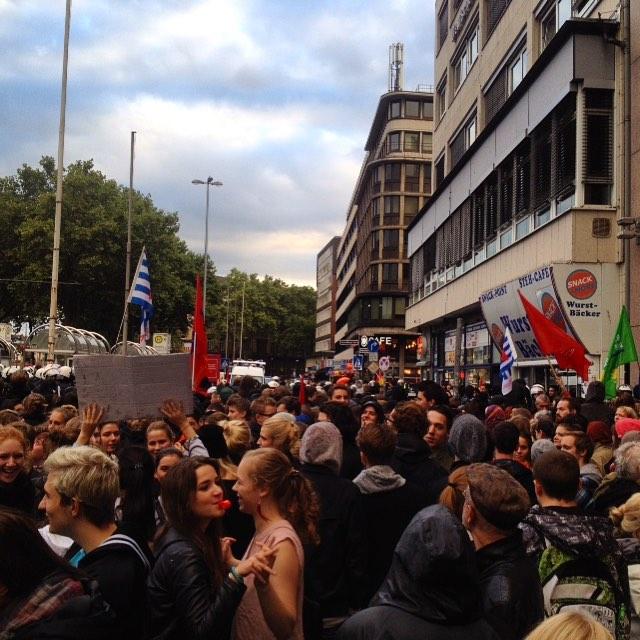 Gemeinsam laut und bunt gegen Nazis :-)