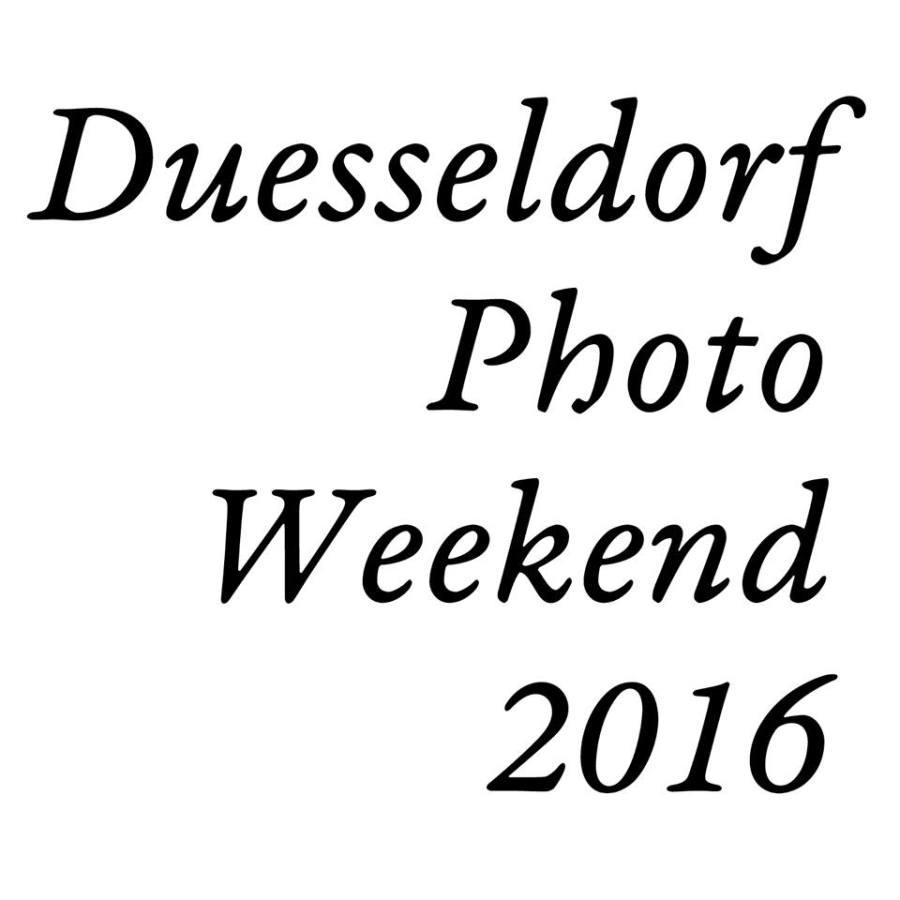 Duesseldorf Photo Weekend 2016