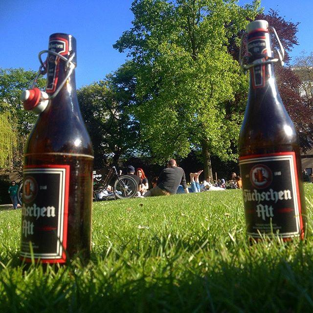 Och, so chilliger Sonnenschein im Park… hat was :-)