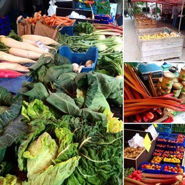 Es geht doch nix über die Auswahl auf'm Bauernmarkt :-)