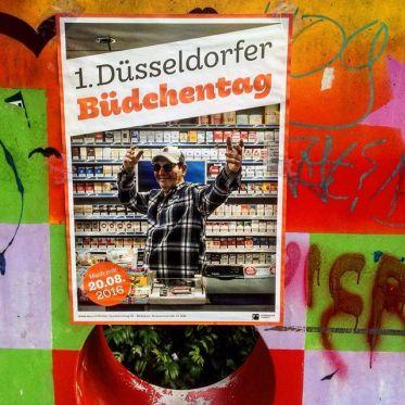 Etwas für den Kalender - der 1. Düsseldorfer Büdchentag kommt :-)