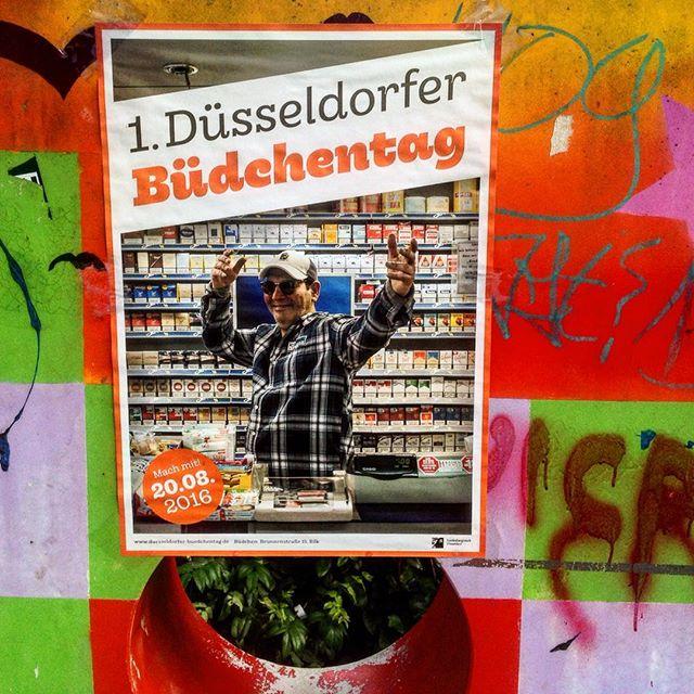 Etwas für den Kalender – der 1. Düsseldorfer Büdchentag kommt :-)