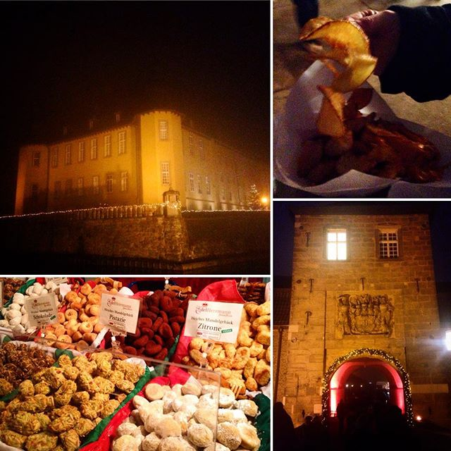Weihnachtsmarkt auf Schloss Dyck - immer wieder eine 'Reise' wert :-)