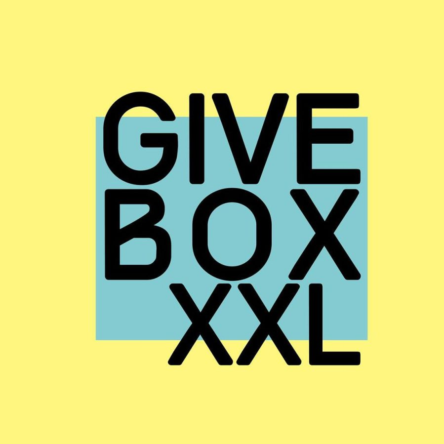 Givebox XXL in den Räumen des Impulz Theaterprojekte e.V.!