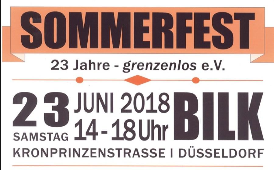 Sommerfest im Café Grenzenlos 2018