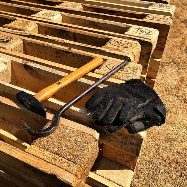 Hochbeet aus Euro-Paletten bauen – warum auch mal nicht ;-)