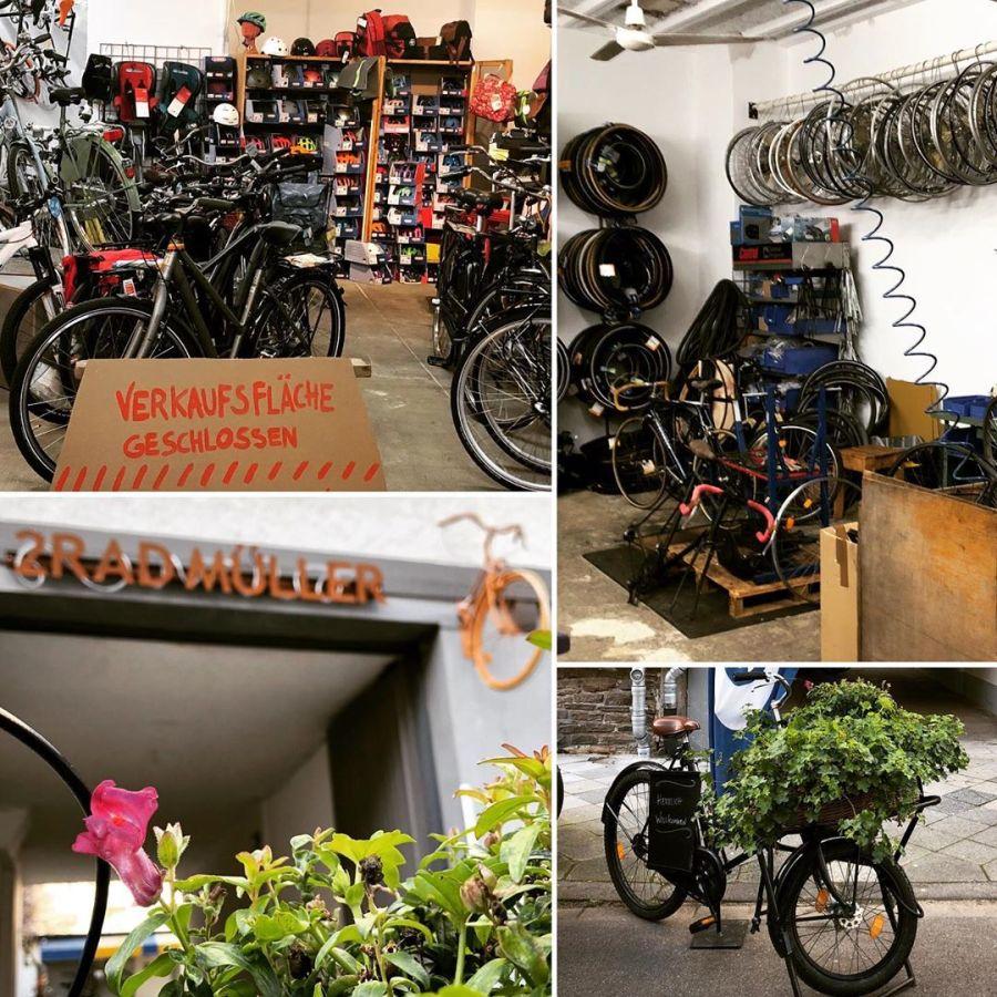 Der Reparaturbetrieb bei '2Rad Müller' auf der Suitbertusstraße geht auch in Zeiten von Corona gewohnt weiter :-) Nur mal so : Mit dem Rad kommt ihr gerade wirklich locker durch die Stadt und müsst auch keinen Parkplatz am Zielort suchen :-) Solltet ihr nicht zu den AlltagsradlerInnen gehören und euer Drahtesel eine helfende Hand brauchen – die FahrradWerkstatt bei euch um die Ecke freut sich bestimmt über einen Auftrag…. Insbesondere da aktuell der Verkauf von Fahrrädern untersagt ist