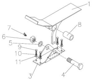 Moffett Mounty Truck Mounted Forklift replacement parts