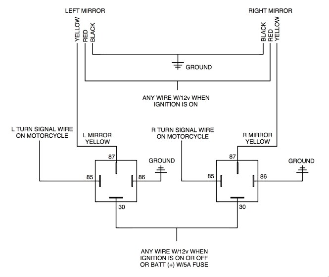 turn signal wiring diagram motorcycle wiring diagram motorcycle turn signal won t blink led turn signal wiring diagram