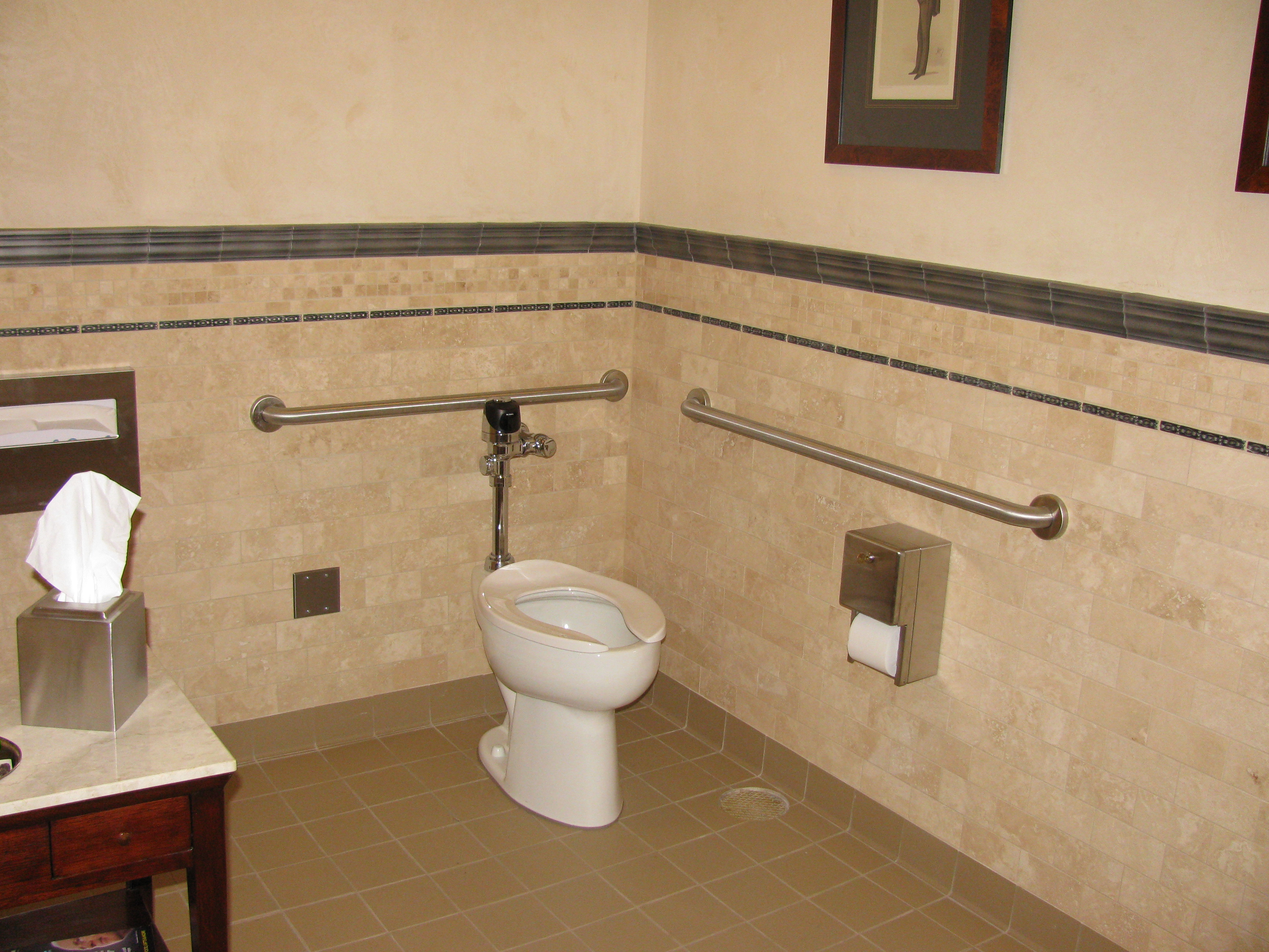 commercial chair rail target white portfolio bill boyd tile work you will recommend