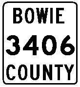 Bowie County Highway 3406